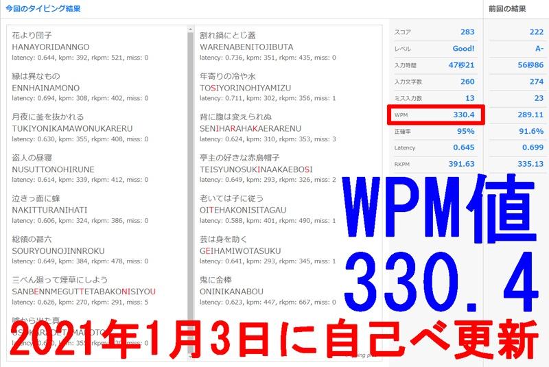 e-typing330.4KPM